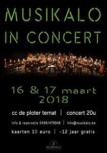 Affiche Concert 2018